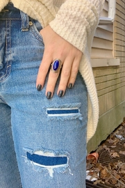 Wild Lilies Jewelry  Lapis Statement Ring - Product Mini Image