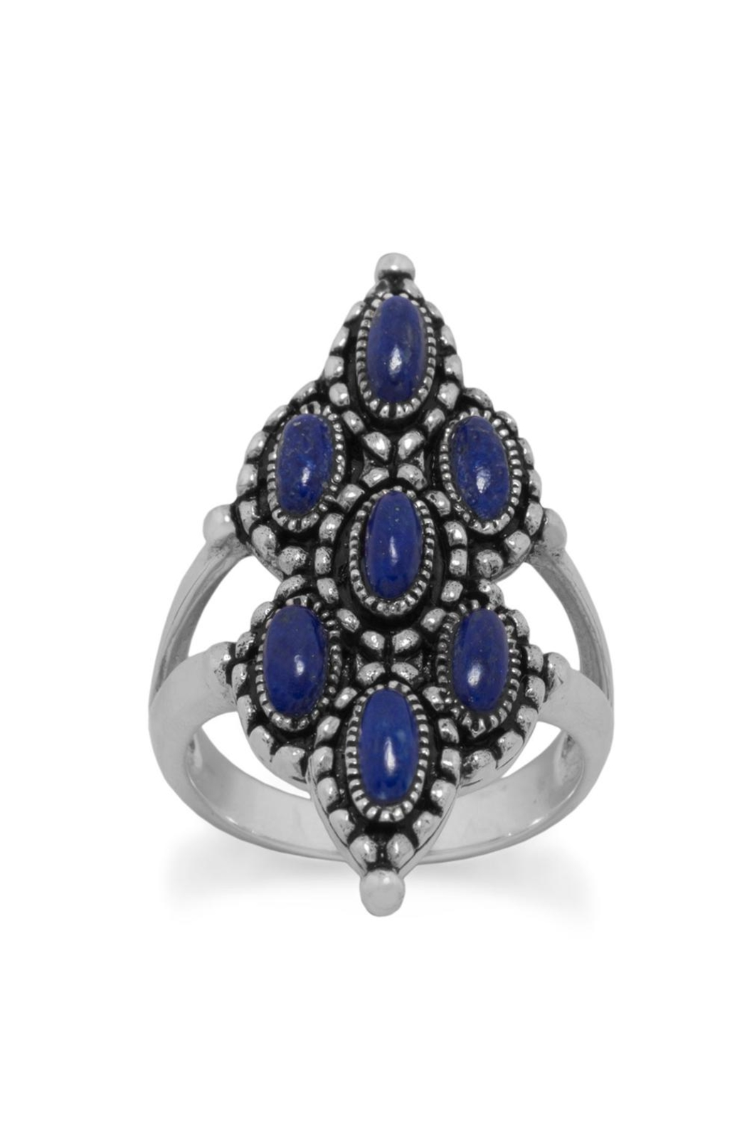 Wild Lilies Jewelry  Lapis Statement Ring - Main Image