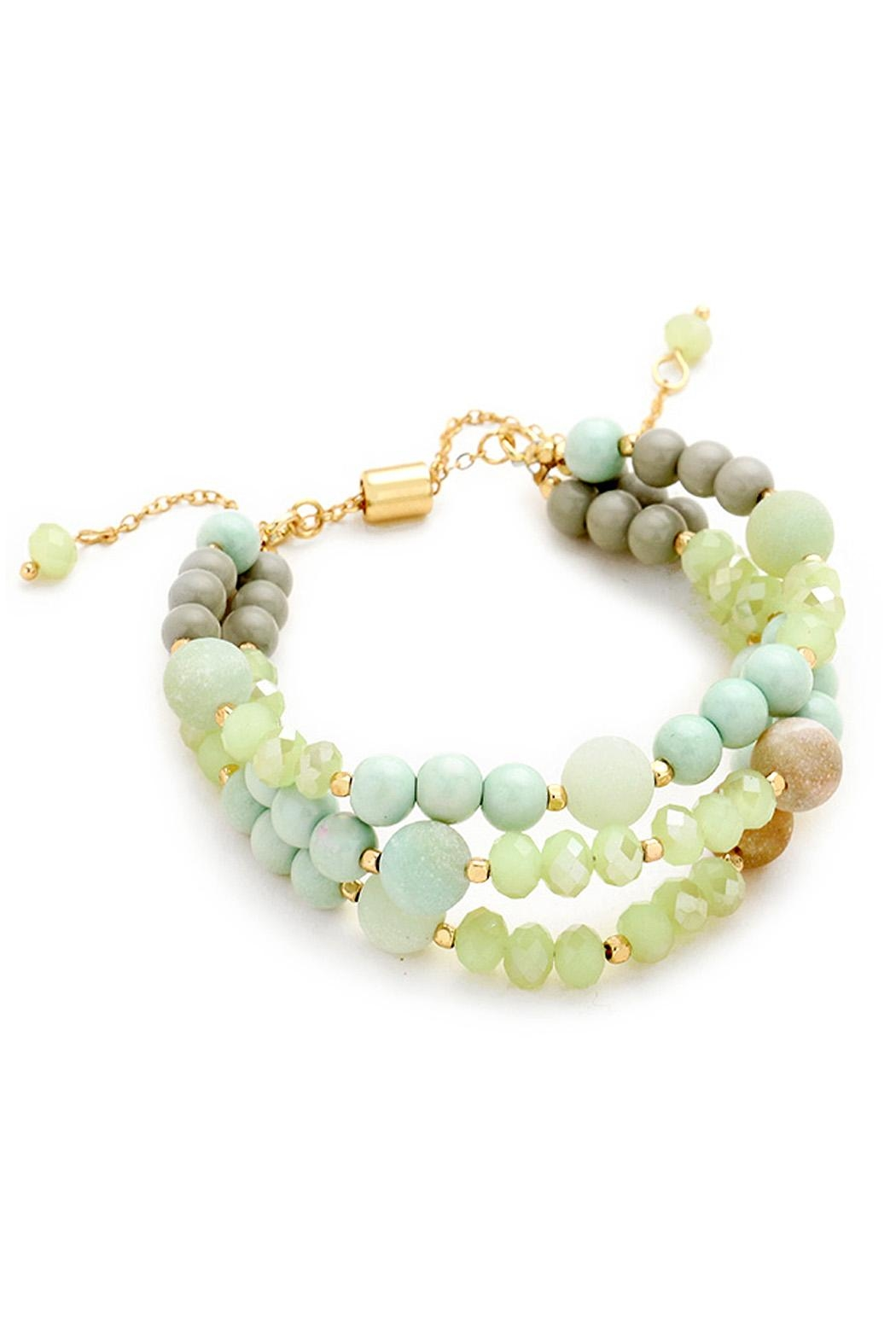 Wild Lilies Jewelry  Layered Amazonite Bracelet - Main Image