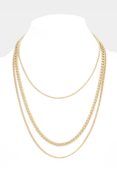 Wild Lilies Jewelry  Layered Chain Necklace - Alternate List Image