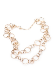 Wild Lilies Jewelry  Layered Chain Necklace - Front cropped