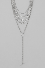 Wild Lilies Jewelry  Layered Chain Necklace - Other