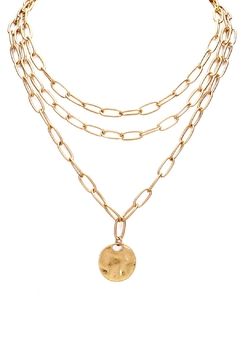 Wild Lilies Jewelry  Layered Coin Necklace - Product List Image