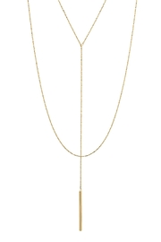 Wild Lilies Jewelry  Layered Lariat Necklace - Front cropped