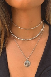 Wild Lilies Jewelry  Layered Lotus Necklace - Product Mini Image