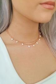 Wild Lilies Jewelry  Layered Pearl Necklace - Product Mini Image