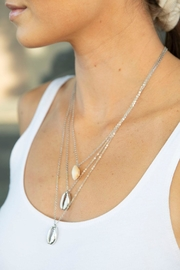 Wild Lilies Jewelry  Layered Shell Necklace - Product Mini Image