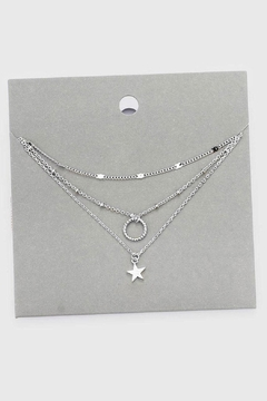 Shoptiques Product: Layered Star Necklace
