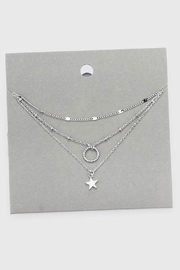 Wild Lilies Jewelry  Layered Star Necklace - Front cropped