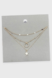 Wild Lilies Jewelry  Layered Star Necklace - Front full body