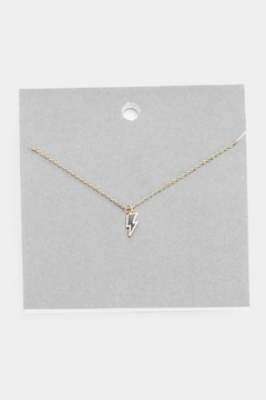 Wild Lilies Jewelry  Lightning Bolt Necklace - Product List Image