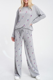 Wild Lilies Jewelry  Lightning Bolt Sweatpants - Product Mini Image