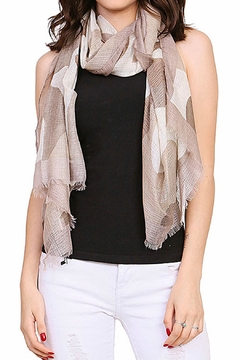 Shoptiques Product: Lightweight Camouflage Scarf