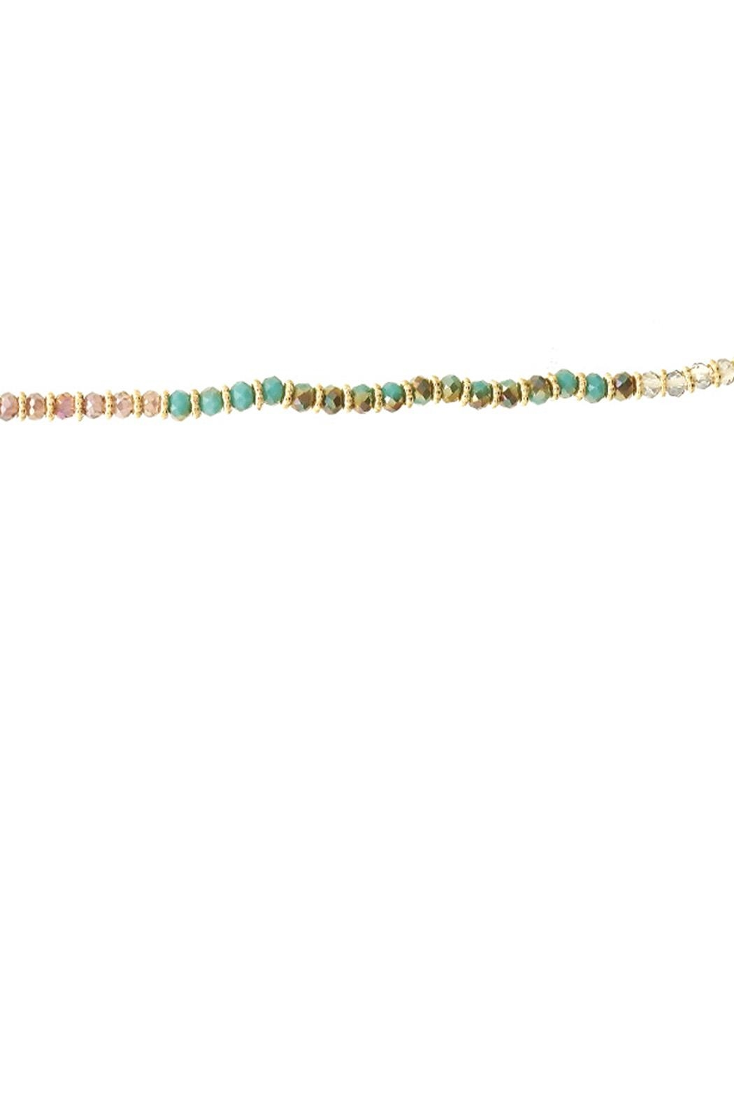 Wild Lilies Jewelry  Long Beaded Necklace - Front Full Image