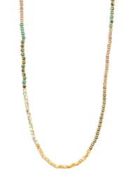 Wild Lilies Jewelry  Long Beaded Necklace - Front cropped