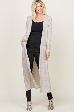Wild Lilies Jewelry  Long Cardigan Sweater - Product List Image