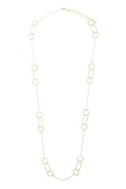 Wild Lilies Jewelry  Long Chain Necklace - Front cropped