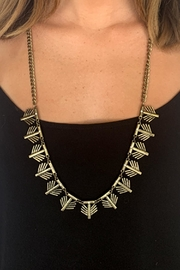 Wild Lilies Jewelry  Long Gold Necklace - Product Mini Image