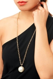 Wild Lilies Jewelry  Long Pearl Necklace - Front cropped