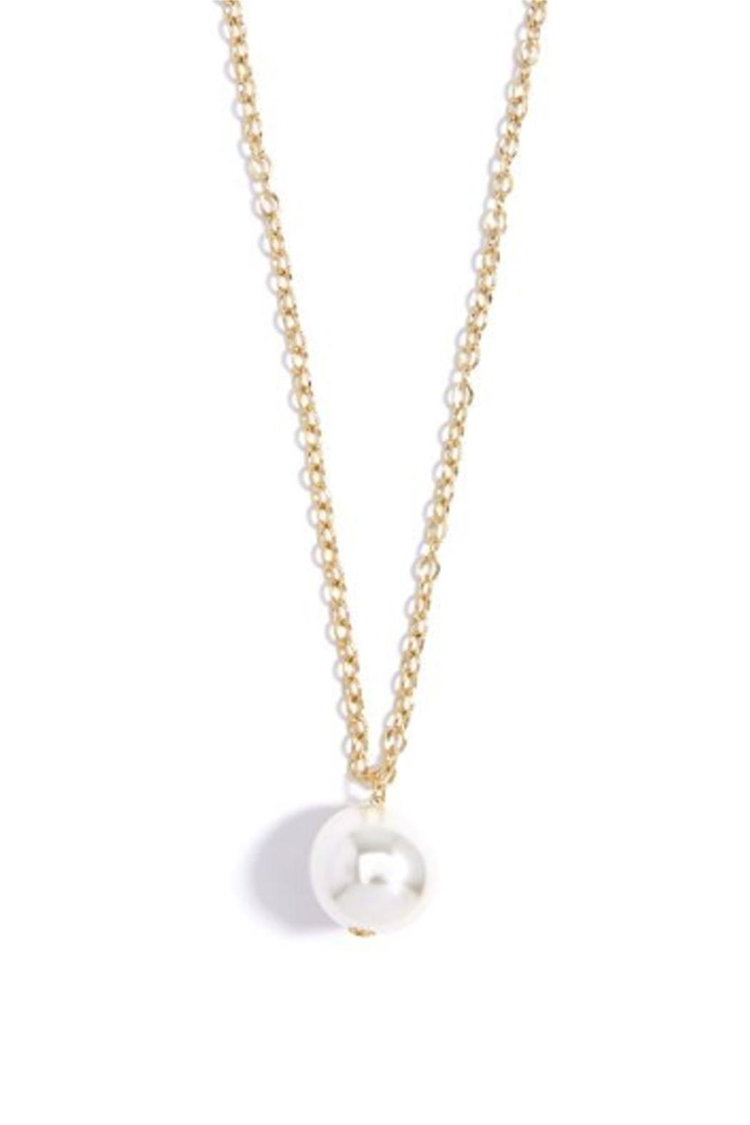 Wild Lilies Jewelry  Long Pearl Necklace - Side Cropped Image