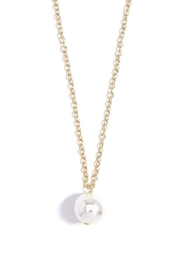 Wild Lilies Jewelry  Long Pearl Necklace - Side cropped