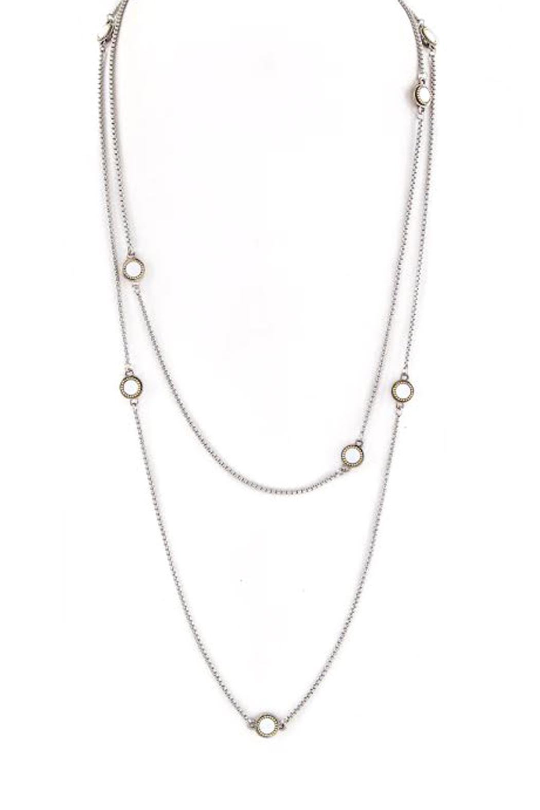 Wild Lilies Jewelry  Long Station Necklace - Main Image