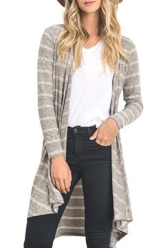 Wild Lilies Jewelry  Long Striped Cardigan - Product List Image