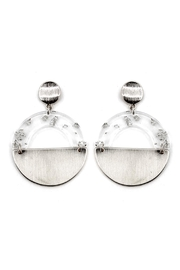 Wild Lilies Jewelry  Lucite Statement Earrings - Product Mini Image