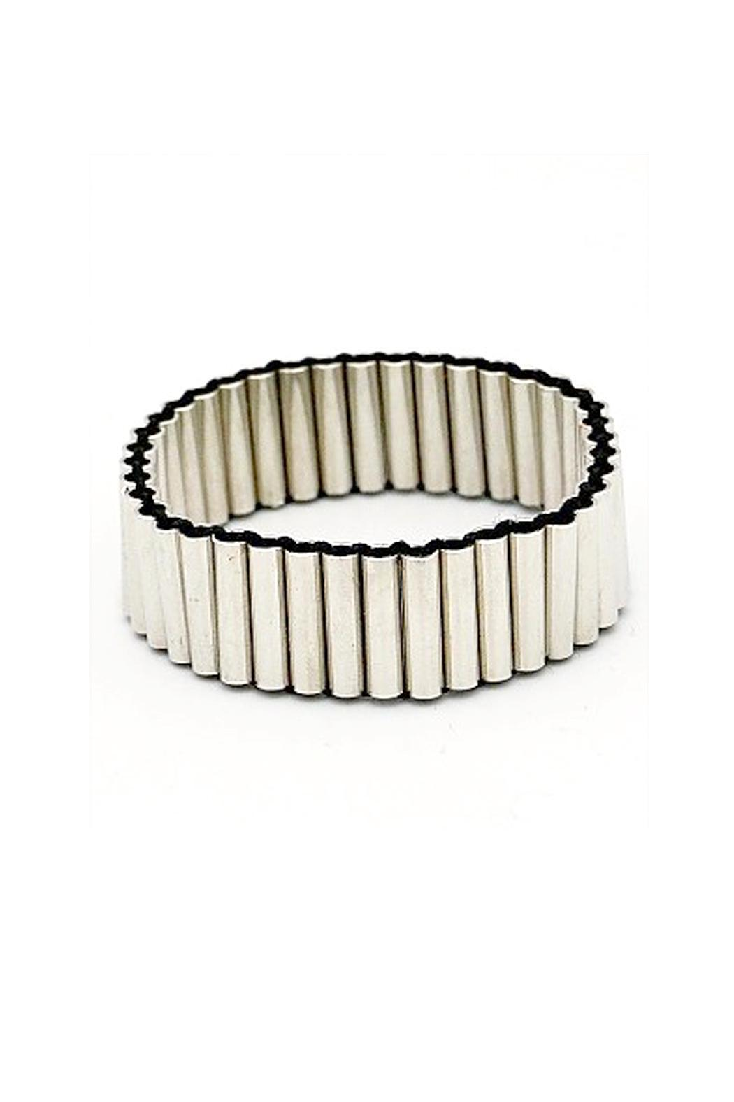 Wild Lilies Jewelry  Metal Tube Bracelet - Front Cropped Image