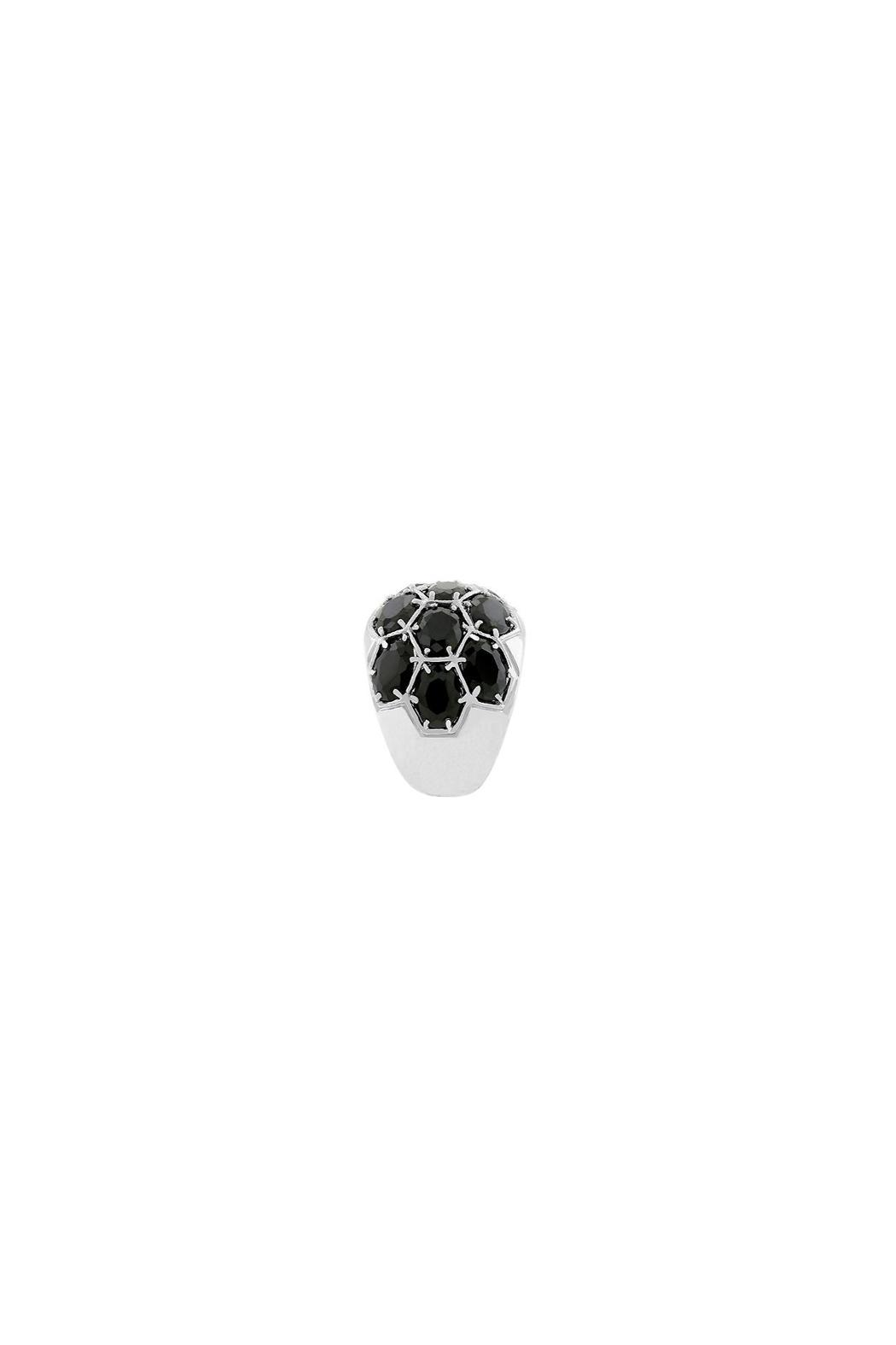 Wild Lilies Jewelry  Midnight Dome Ring - Side Cropped Image