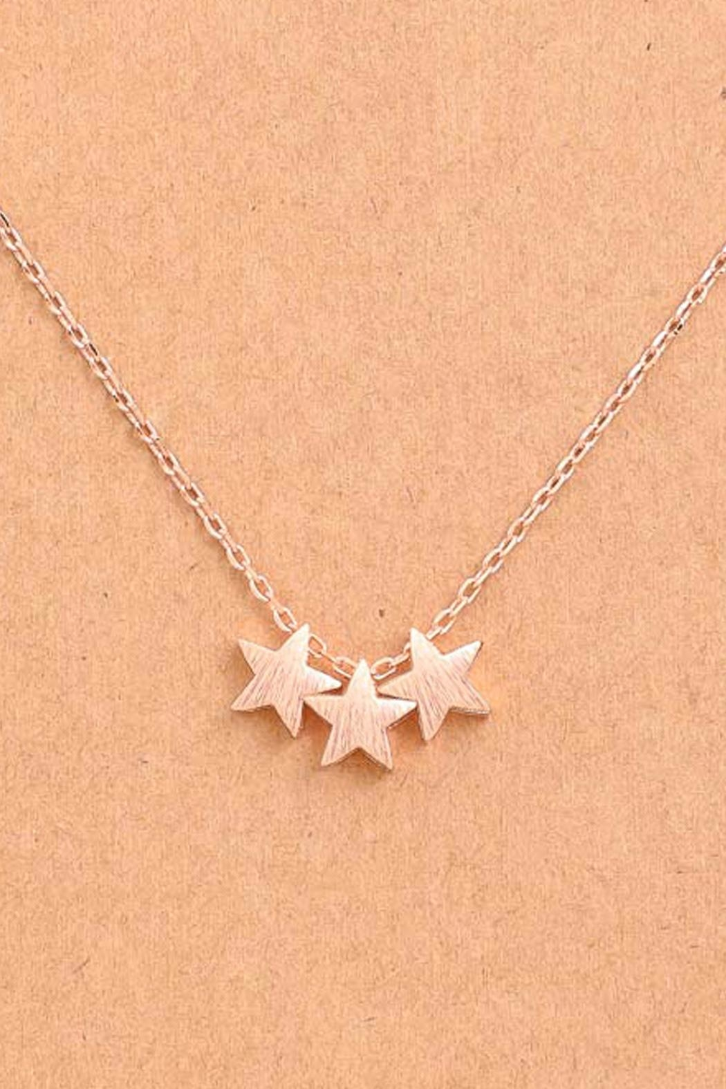 Wild Lilies Jewelry  Mini Star Necklace - Front Full Image