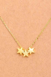 Wild Lilies Jewelry  Mini Star Necklace - Front full body