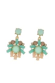 Wild Lilies Jewelry  Mint Statement Earrings - Product Mini Image