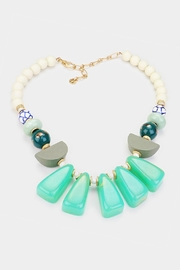 Wild Lilies Jewelry  Mint Statement Necklace - Product Mini Image