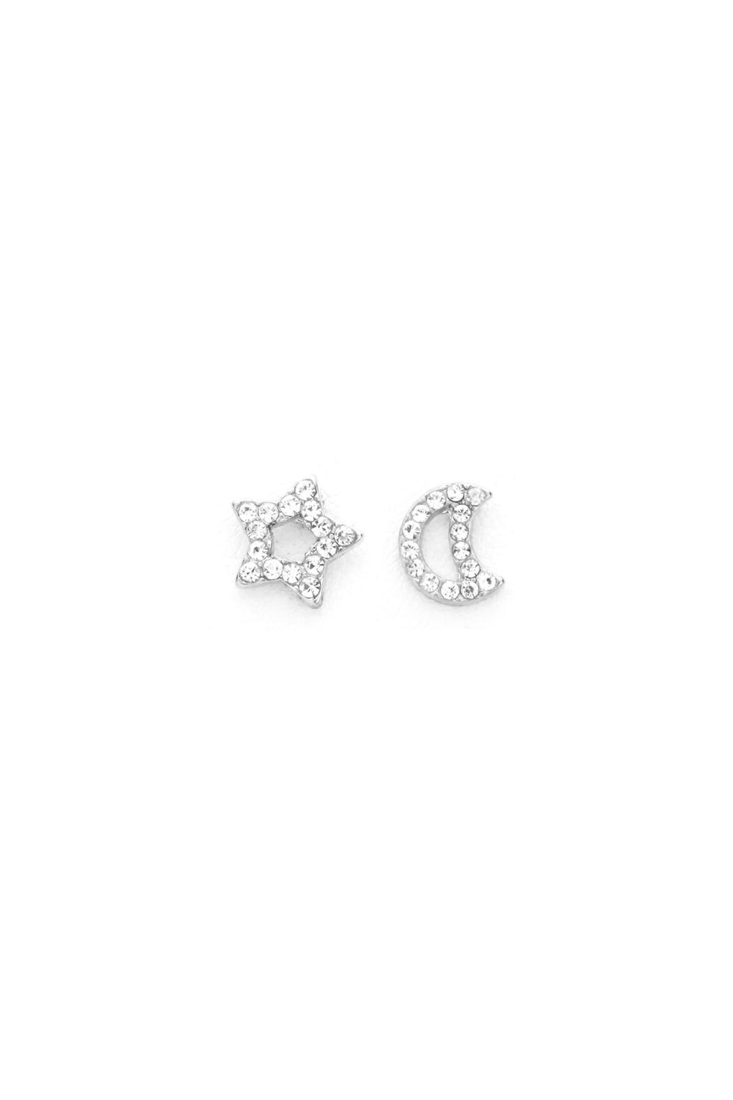 and champ mismatched side plated champagne rhodium silver sterling earrings stud diamonds black products diamond in prince adornia
