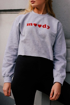 Wild Lilies Jewelry  Moody Cropped Sweatshirt - Product List Image