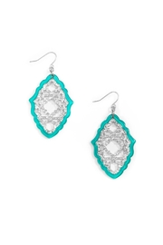 Wild Lilies Jewelry  Moroccan Lattice Earrings - Product Mini Image