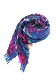 Wild Lilies Jewelry  Navy Blanket Scarf - Product Mini Image