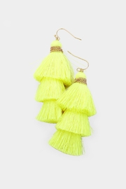 Wild Lilies Jewelry  Neon Tassel Earrings - Product Mini Image