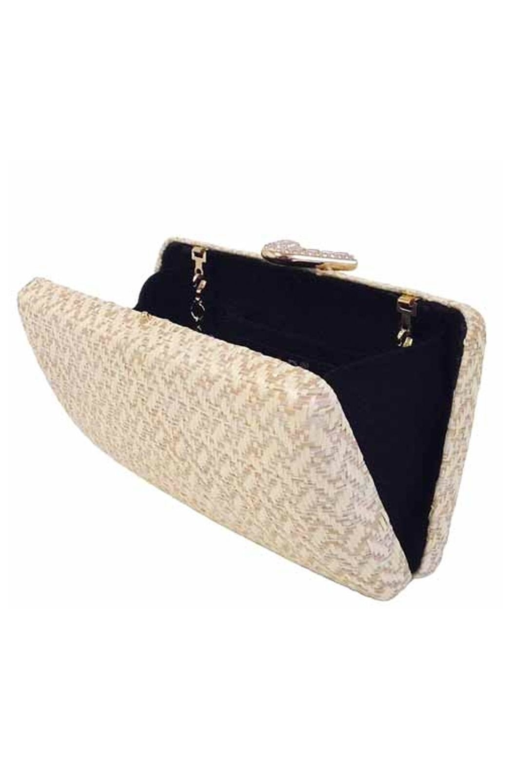 Wild Lilies Jewelry  Nude Box Clutch - Front Full Image