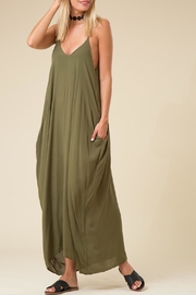 Wild Lilies Jewelry  Olive Maxi Dress - Product Mini Image
