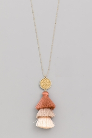 Wild Lilies Jewelry  Ombre Tassel Necklace - Product Mini Image