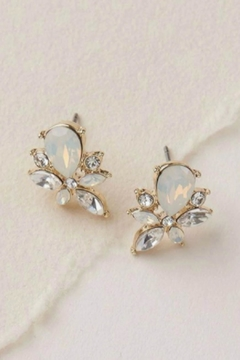 Wild Lilies Jewelry  Opal Cluster Earrings - Product List Image