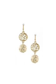 Wild Lilies Jewelry  Orb Drop Earrings - Product Mini Image