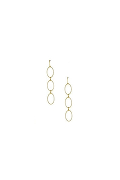 Shoptiques Product: Oval Link Earrings