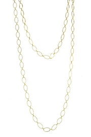 Wild Lilies Jewelry  Oval Link Necklace - Front cropped