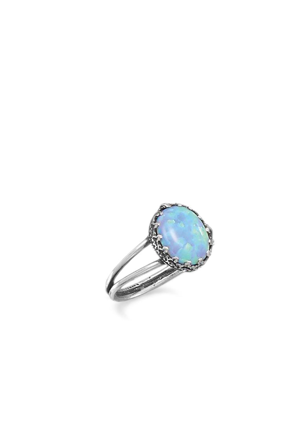 Wild Lilies Jewelry  Oval Opal Ring - Main Image