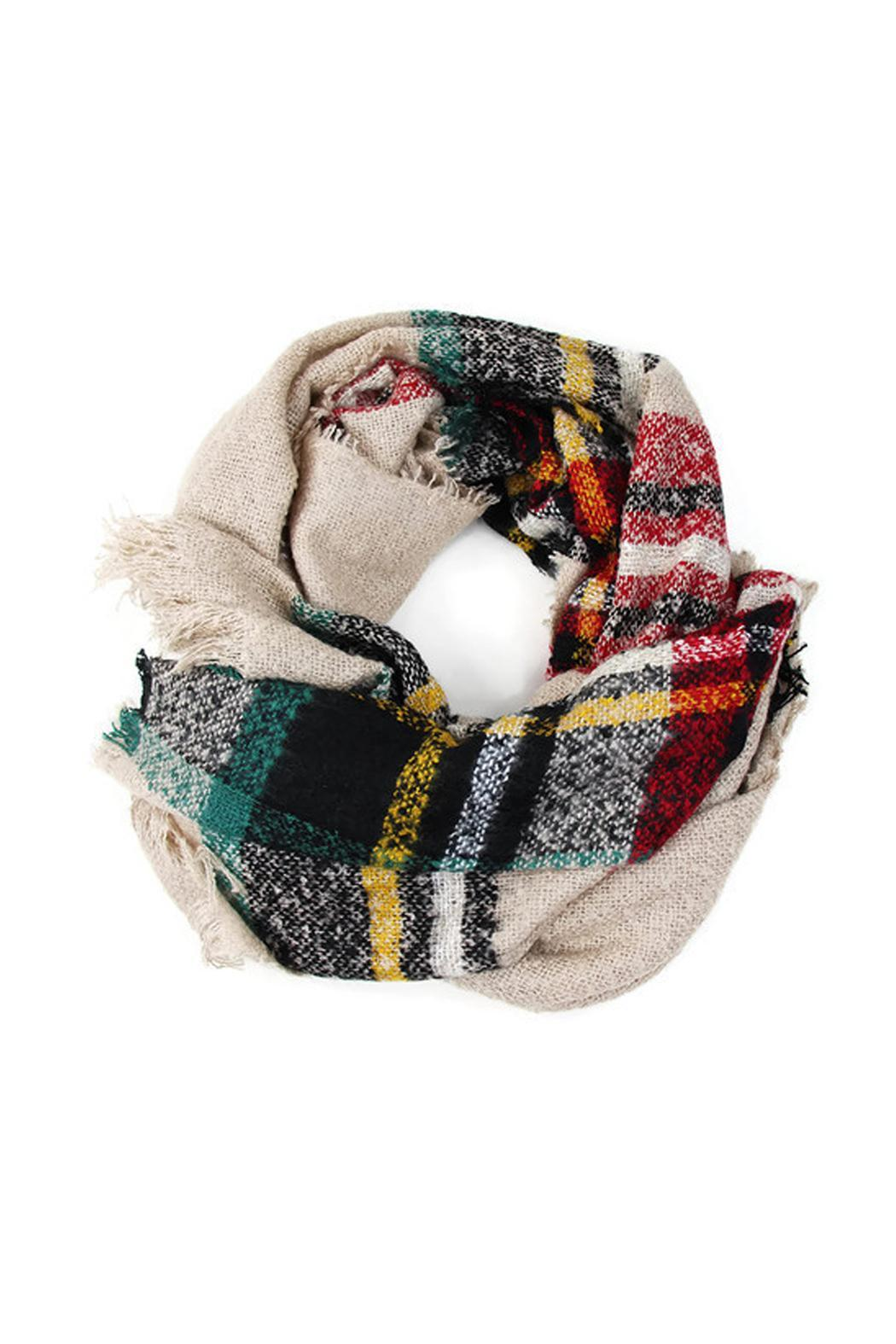 Wild Lilies Jewelry  Oversized Blanket Scarf - Side Cropped Image
