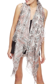 Wild Lilies Jewelry  Paisley Fringe Scarf - Product Mini Image
