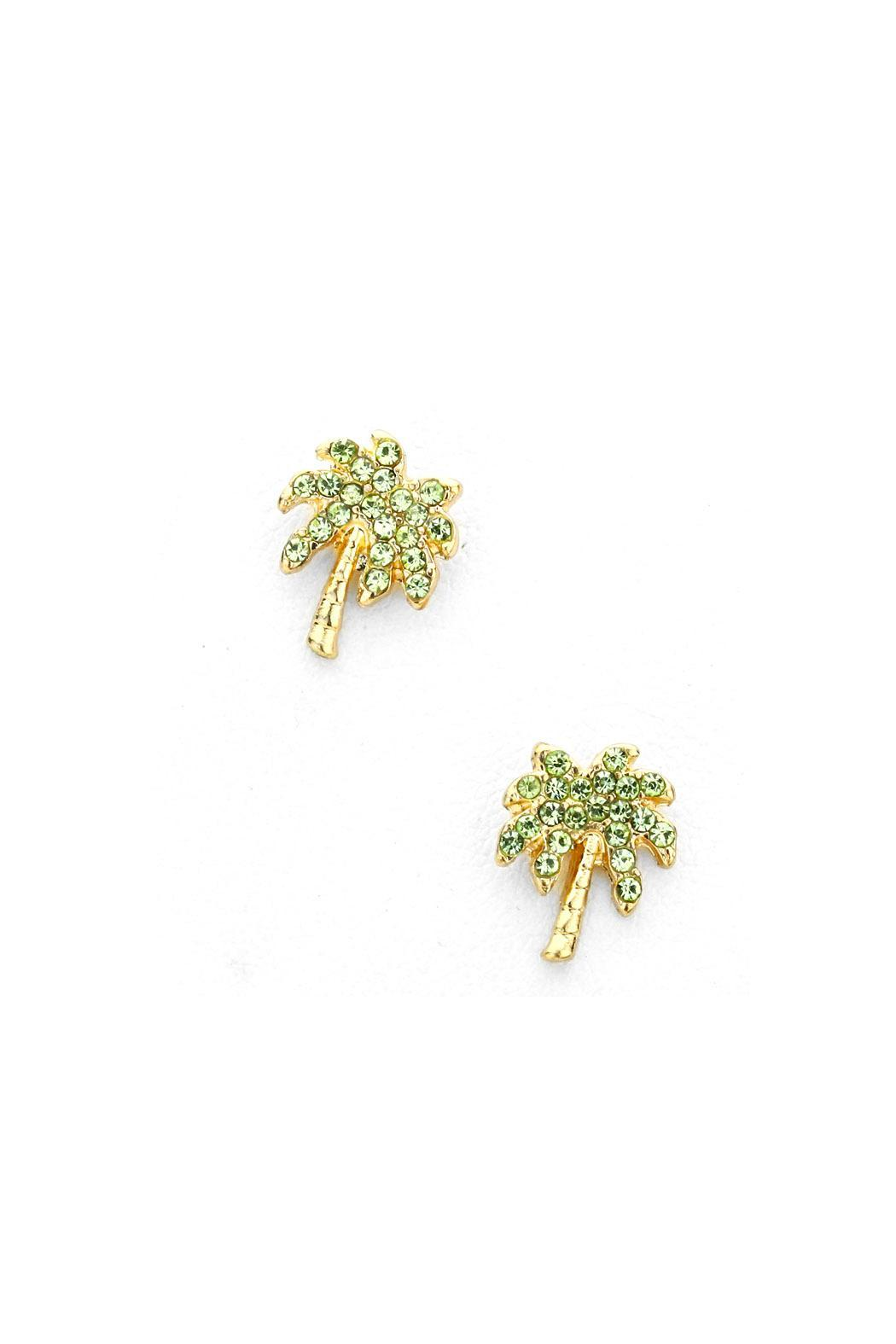 Wild Lilies Jewelry Palm Tree Earrings Front Cropped Image